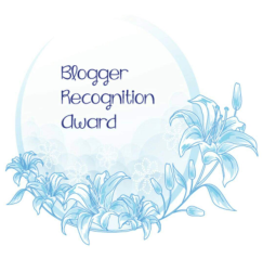 BLOGGER RECOG AWARD