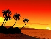 9072595-beautiful-tropical-beach-sunset