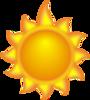 a-sun-cartoon-with-a-long-ray-th