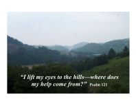 psalm 121 mountains