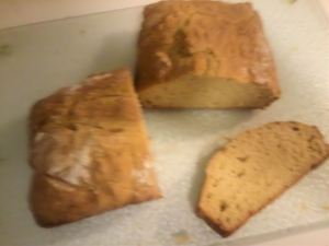 irish soda white bread sliced