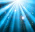 1090481-Clipart-Background-Of-Orbs-Sparkles-And-Blue-Light-Shining-Down-Royalty-Free-Vector-Illustration