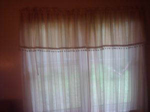 curtains bed