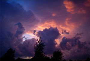Sunset and Storm1